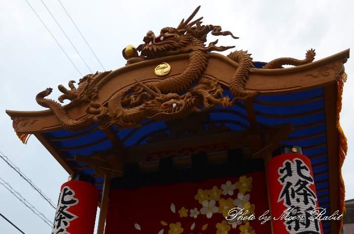だんじり破風 北条新田屋台(だんじり)