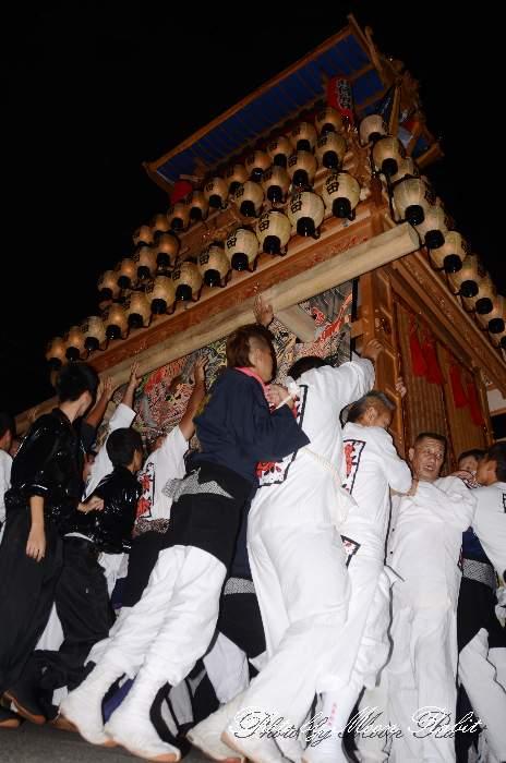 北條新田屋台(北条新田だんじり) 東予祭り統一運行