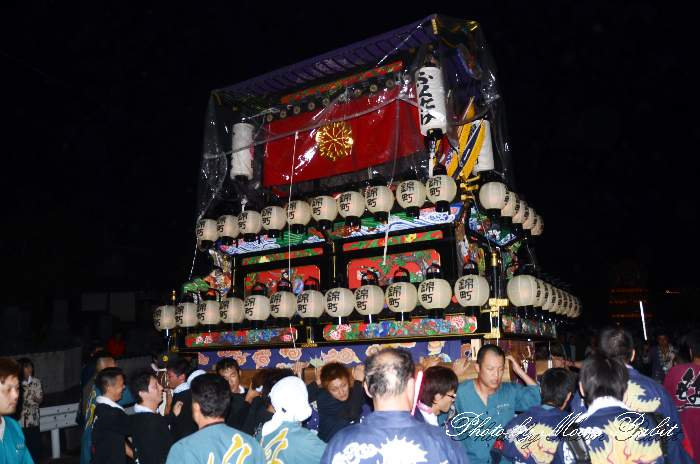 加茂神社祭礼 旧錦町屋台(旧錦町だんじり)