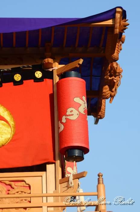 上之浦屋台(上の浦だんじり) 西条祭り