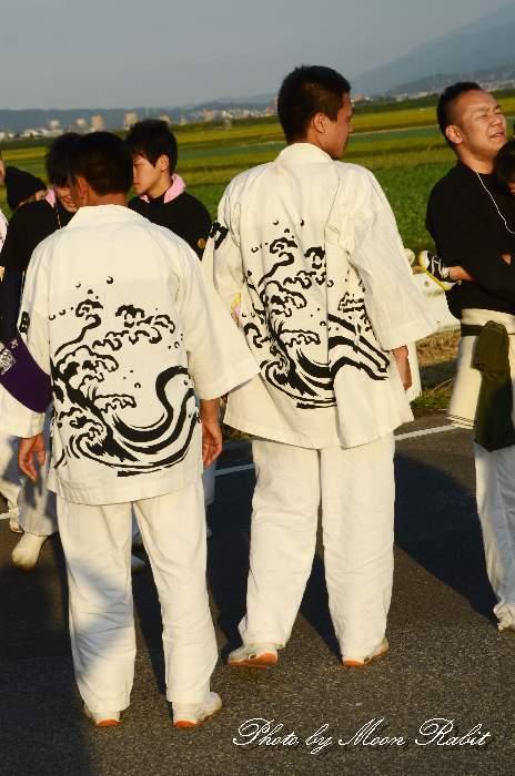 新町屋台(だんじり) 祭り装束 石岡神社祭礼
