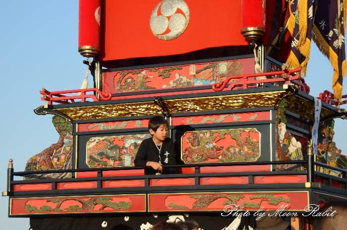 渡御行列 新町屋台(だんじり) 石岡神社祭礼