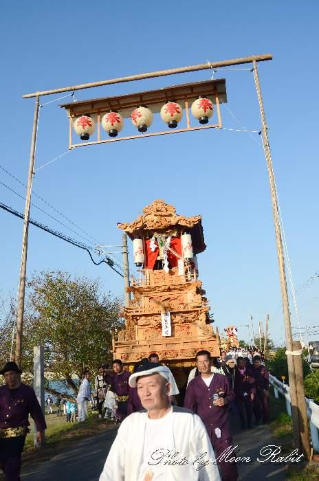 高張提灯 新兵衛 西条祭り 石岡神社祭礼