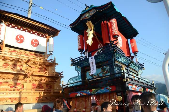 渡御行列 寺之下屋台(寺の下だんじり) 石岡神社祭礼