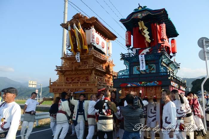 渡御行列 西町屋台(だんじり)  石岡神社祭礼