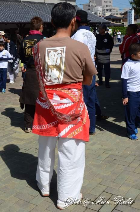 新地屋台(だんじり) 祭り装束