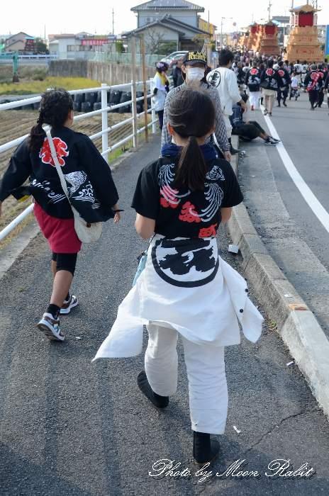 北町だんじり(喜多町屋台) 祭り装束 西条祭り