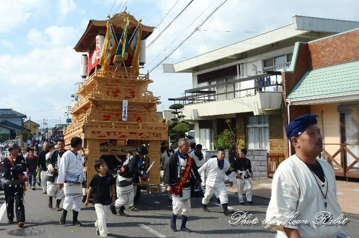 玉津 喜多町だんじり(北町屋台)