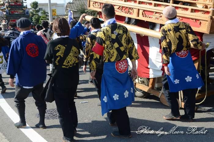 大師町屋台(大師町だんじり) 法被 祭り装束 西条祭り2013 伊曽乃神社