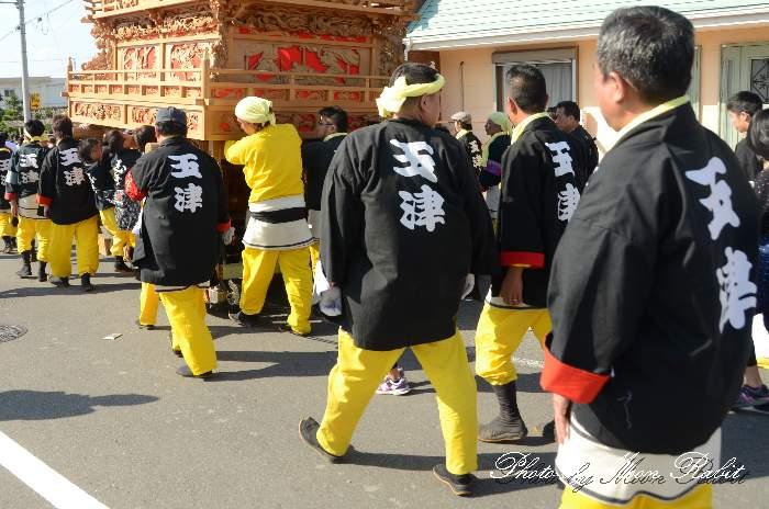 玉津屋台(玉津だんじり) 祭り装束