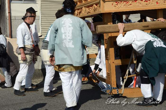 栄町中組屋台(だんじり) 祭り装束