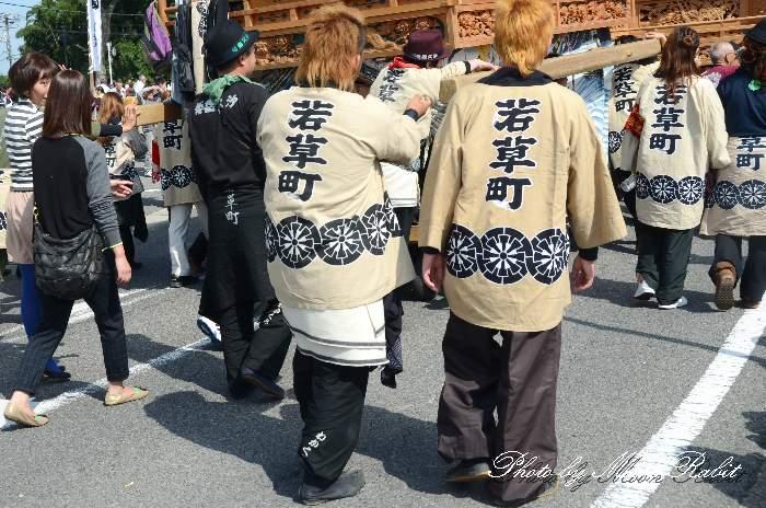 若草町屋台(若草町だんじり) 西条祭り