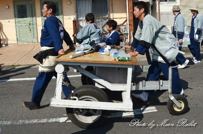 新田だんじり(福武新田屋台) 台車