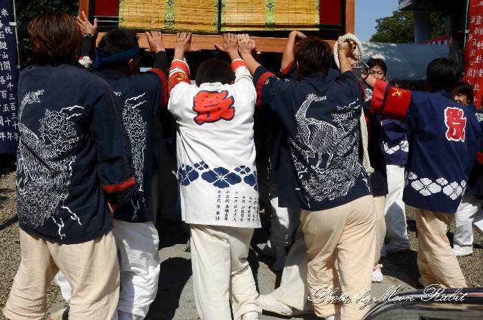 楢之木だんじり(屋台) 法被 祭り装束