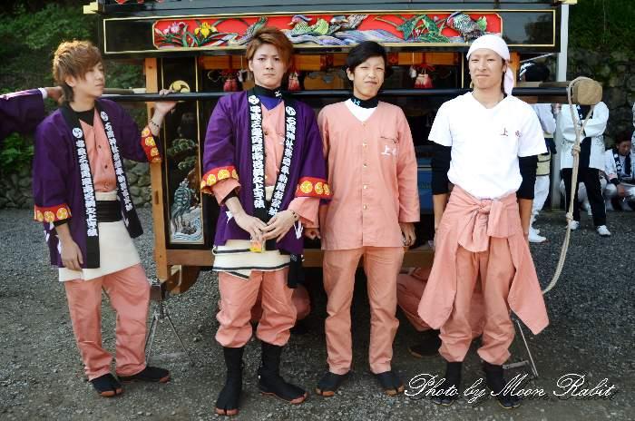 上町屋台(上町だんじり) 祭り装束