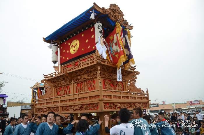 親善会だんじり(屋台) 東予祭り