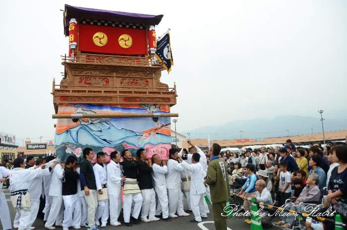 石田屋台(だんじり) 東予祭り