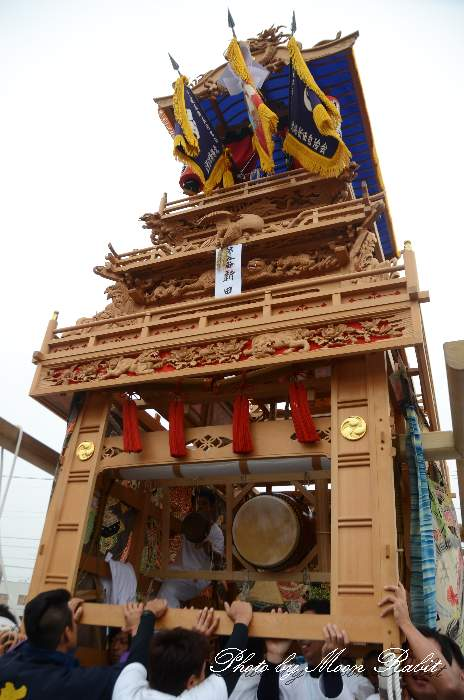北條新田屋台(だんじり) 東予祭り