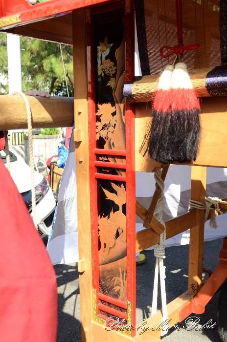 袖障子 本町だんじり(本町屋台) 西条祭り