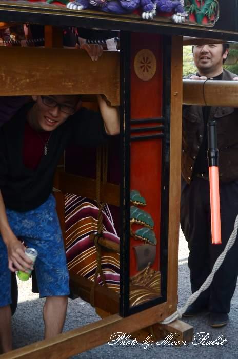 袖障子 船元町屋台(だんじり) 西条祭り
