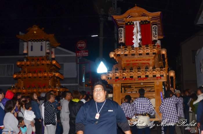 前夜祭 古町屋台(だんじり)