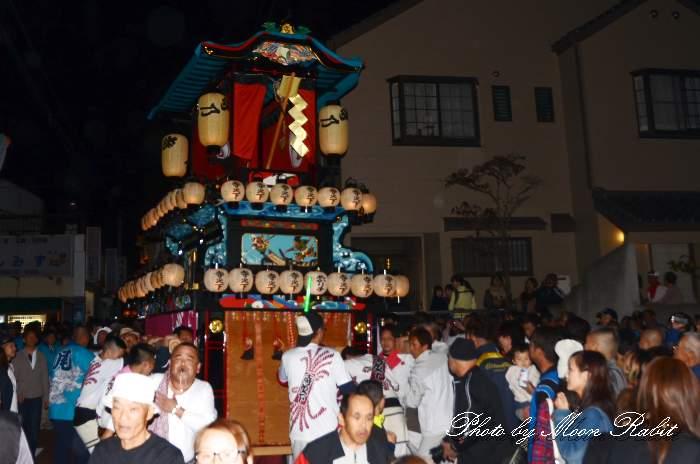 前夜祭 寺之下屋台(だんじり)
