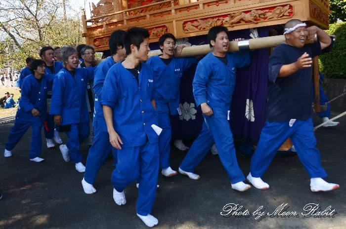 西泉屋台(だんじり) 祭り装束 石岡神社祭礼