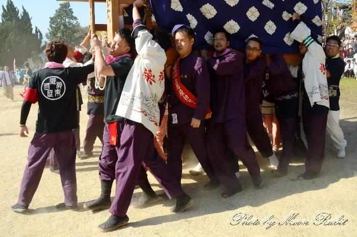 土居御神楽屋台(土居だんじり) 法被 祭り装束 石岡神社祭礼