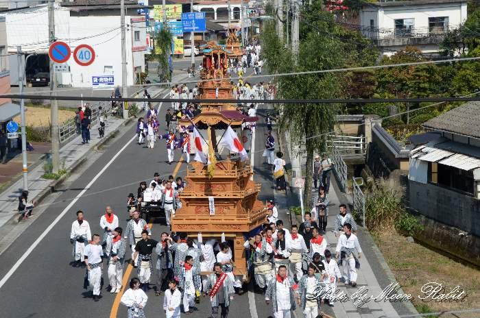 統一運行 吉原三本松屋台(だんじり)