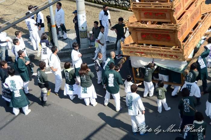統一運行 栄町中組屋台(だんじり)