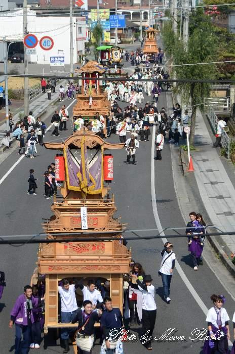 統一運行 栄町下組屋台(だんじり)