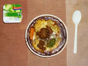 じっくり煮込んだビーフシチュードリア,アロエヨーグルト