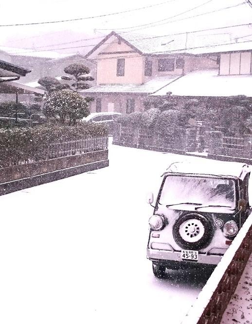 雪のバモス
