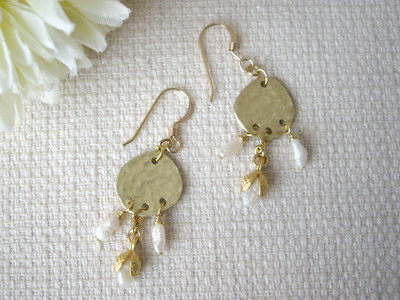 metalsmith earrings