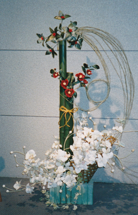 ブログお正月の花3