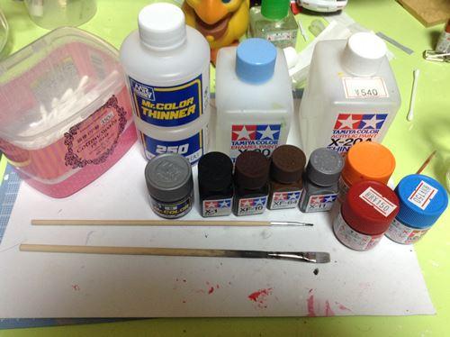 ミレニアムファルコン塗装準備 (1)_R