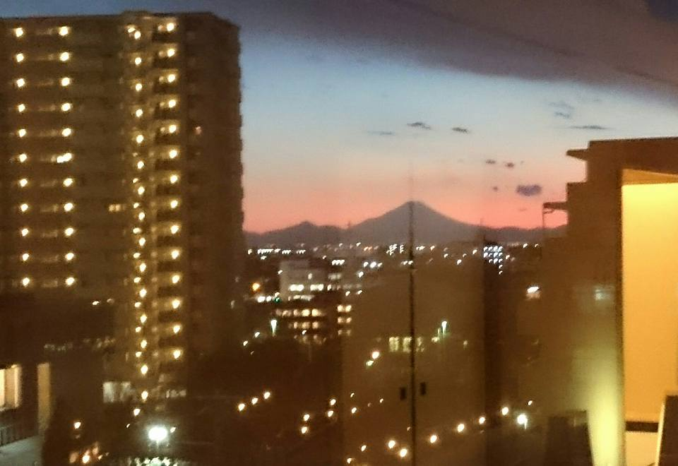 【ホテルから富士山🗻が】-1