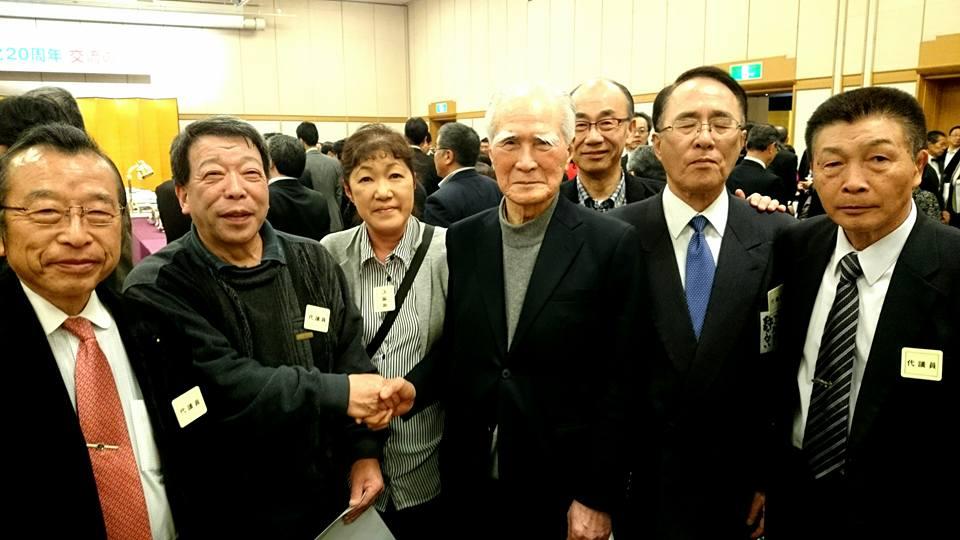 【社民党20周年・交流の夕べ】-4