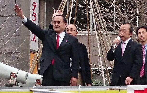 【吉田忠智・社民党党首と】-2