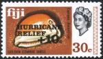 フィジー・ハリケーン募金(1972)