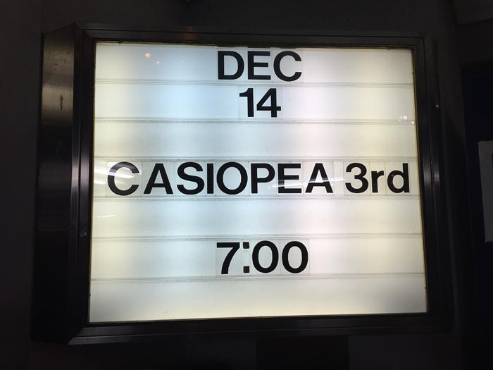 CASIOPEA 3rd 2015 名古屋 1