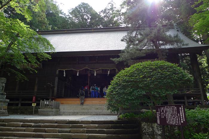 甲斐の神社  河口浅間神社  16