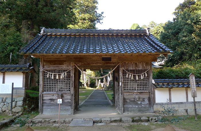 但馬の神社  粟鹿神社  6