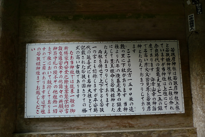 若狭の神社  若狭彦神社  12