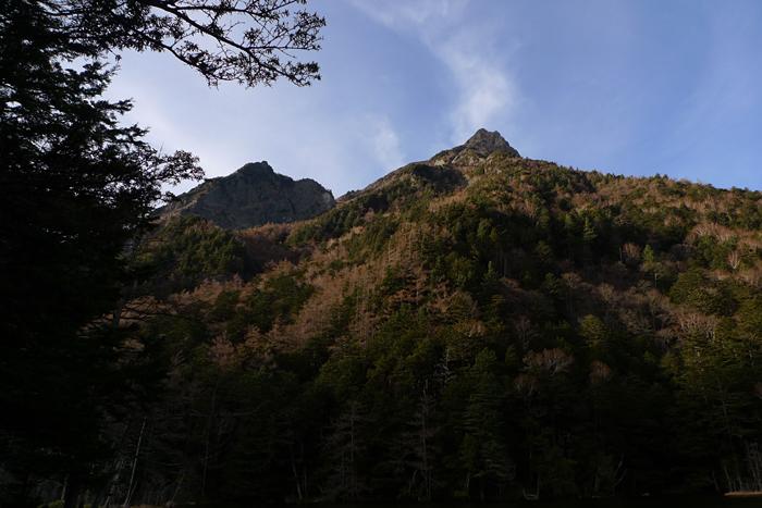 晩秋の上高地  2015 10 明神池 1