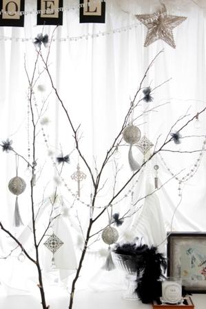 2015 クリスマス 枯れ木ツリー