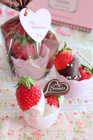 可愛いチョコフルーツ (12)