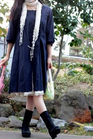 AKAISHI ショートブーツ (7)