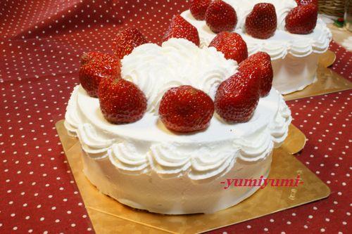 いちごのケーキ2