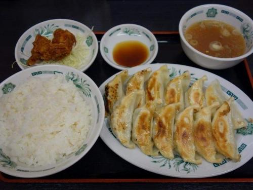 W餃子定食